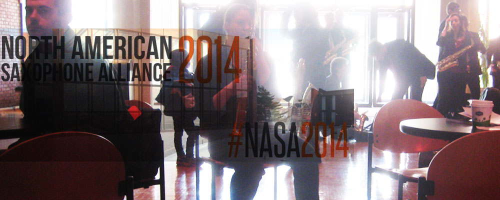 NASA Sax Convention 2014 Banner3
